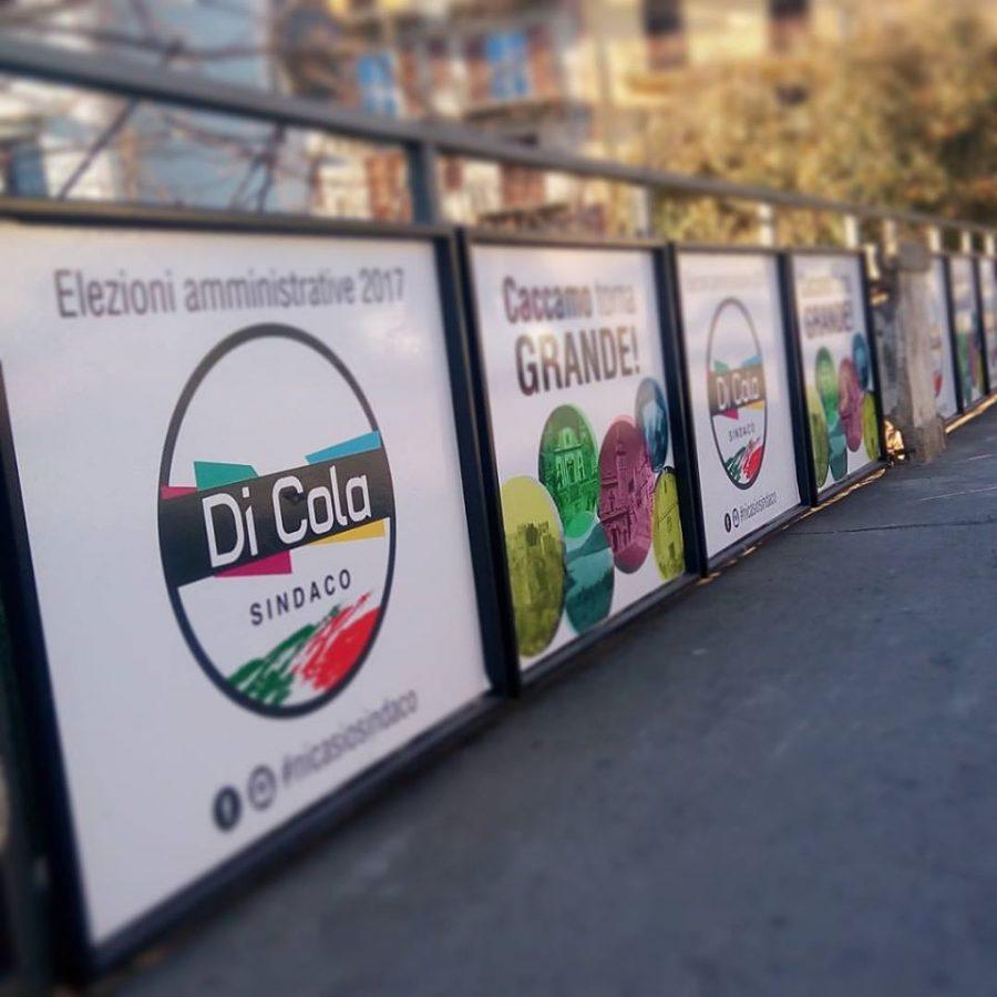 Caccamo Diventa Grande Di Cola Sindaco Parapedonali  - Creative Suite